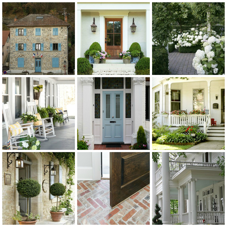 Inspiration Board A Colonial Cottage Southern Style