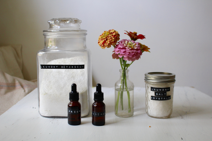 Homemade Laundry Detergent & Natural