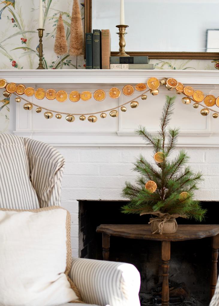 Dried Orange Garland Homesong